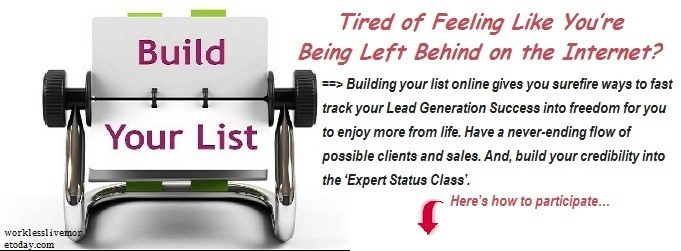 Build Your List tele-class no-cost