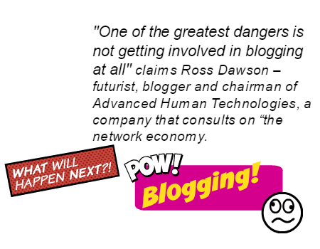 blogging pow