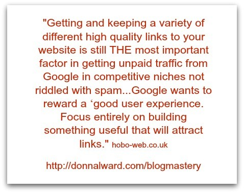backlinks and google