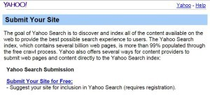 Yahoo-site-submit