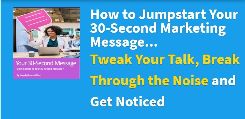 Jumpstart Your Marketing Message